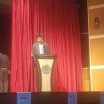 سخنرانی آقای امین معین مسئول کارگروه محیط زیست
